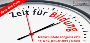 Save the Date! NRNW Update Kongress 2019