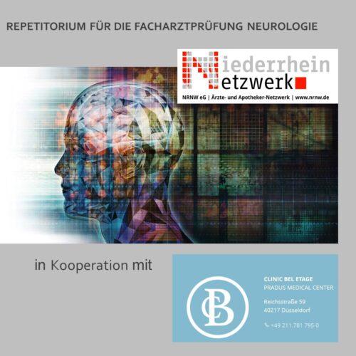 Repetitorium für die Facharztprüfung Neurologie – 19 CME Punkte